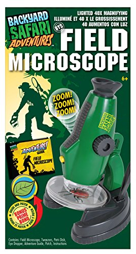 Backyard Safari Field Microscope
