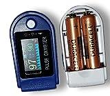 Best Pulse Oximeters - Tamizhanda P-01 Pulse Oximeter-Blue&White. 2 DURACELL inside. 6 Review