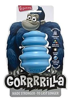 EUROPET Jouet pour Chien Gorrrrilla Classic Rubber Toy Large Blue, 13-30kg
