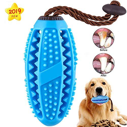 Hundekauspielzeug für aggressive Kauvorgänge Zahnbürste, kleines mittelgroßes Hundeseilspielzeug Puppy Teeth Cleaning und interaktives Food Treat Dispensing