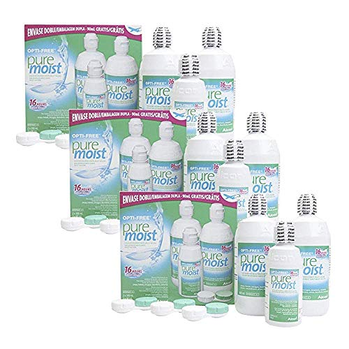 Opti-Free PureMoist Pflegemitel (6 x 300 ml + 3 x Flight Pack (3 x 60 ml))