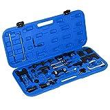 34piezas Set de herramientas de bloqueo para motor, para correa dentada, DE ajuste Motor, con Caja de herramientas, Motor de bloqueo de instrumento de Regulación correa de distribución