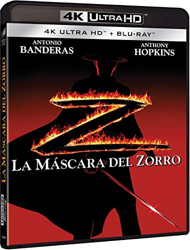 The Mask of Zorro - La máscara del Zorro (4K UHD + BD)