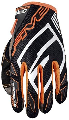 Cinq Advanced Gants Mxf Pro Rider S Gants pour adulte, Noir/orange fluo, taille 11
