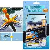Randalfy Do-It-Yourself Auto Windshield Crack Repair Kit – Windshield Repair Kit for Car Windscreen, Glass Rock Chip, Bulls Eye, Star, Half Moon Repair