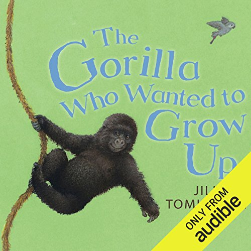The Gorilla Who Wanted to Grow Up audiobook cover art