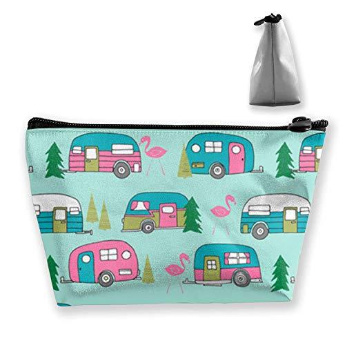 Trousse à maquillage, sac de voyage, sac de voyage - New Mexico State Car, SkullZombiesPattern, OneSize