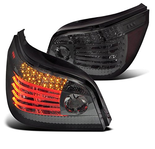 ZMAUTOPARTS BMW E60 5Series CCFL LED Altezza Tail Lights Smoke 525 530 545 550