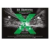ZOEOPR Plakat Ed Sheeran Singer-Songwriter Plakat Wandkunst