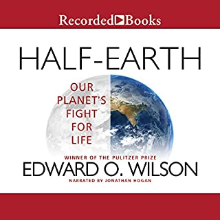 Half-Earth audiobook cover art