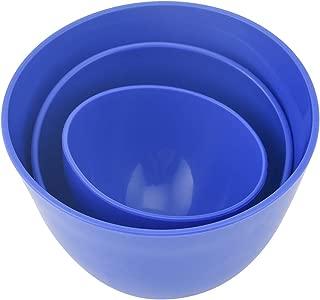 Dental Mixing Bowls Nonstick Impression Mixing Alginate Bowl use in Dental Lab 3pcs
