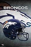 Trends International NFL Denver Broncos - Helmet 16 Wall Poster, 22.375' x 34', Premium Unframed Version