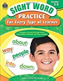 Sight Word Practice for Every Type of Learner Grd 1-2: Grade 1-2