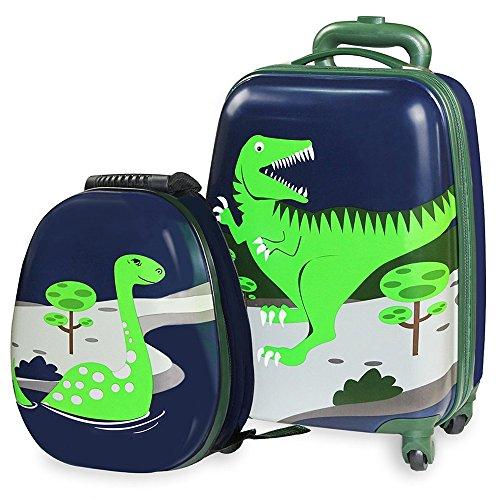iPlay iLearn - Equipaje infantil de Dinosaurios