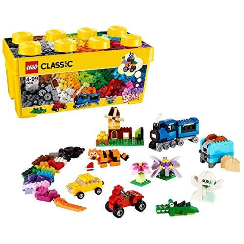 Lego 6102211 Lego Classic   Lego Classic Creatieve Medium Opbergdoos - 10696, Geel