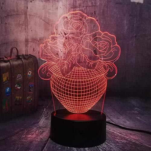 3D-nachtlampje voor kinderen, mooi meisje in zadel op een motorfiets of quad met USB-oplader, geschikt voor kinderverjaardag en Kerstmis. Interruttore touch Stile 524