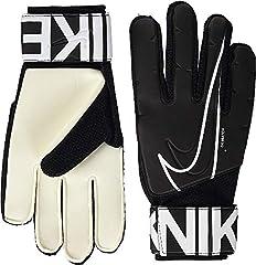 NIKE Gk Match Guantes de Fútbol, Unisex Adulto, Blanco (White/Black), 10