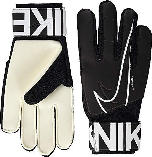Nike Goalkeeper Match-Fa19, Guanti Da Calcio Unisex-Adulto, Bianco (White/Black), 9