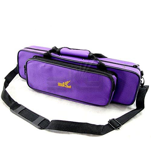 "Sky""C"" Flute Lightweight Case with Shoulder Strap (Purple)"