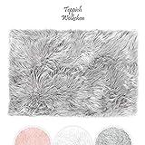 Teppich Wlkchen Tappeto in Finta Pelle di Pecora-Agnello |...