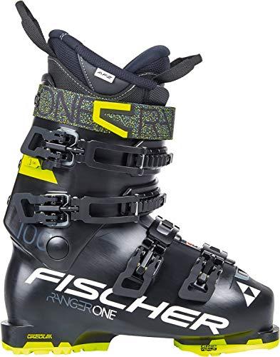 fischer Ranger One 100 Chaussures de Ski pour Homme, Homme, Noir/Noir, 9.5 (27.5)
