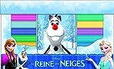 La reine des neiges, Olaf et ses amis : Coffret en 10 volumes : Libérée, délivrée ; Princesse Anna ; Les couleurs ; En avant, Sven ! ; Un bonhomme de ... Avec une peluche (Les coffrets Pi Kids)