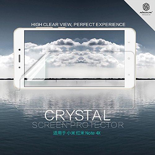 Nillkin Crystal–Film Pellicola Proteggi Schermo Trasparente per Xiaomi Redmi Note 4/Note 4x–Trasparente