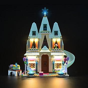 LIGHTAILING Light Set for  Disney Frozen Arendelle Castle Celebration  Building Blocks Model - Led Light kit Compatible with Lego 41068 NOT Included The Model