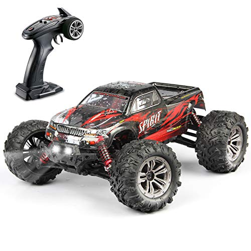 Hosim High Speed 36km / h 4WD 2.4Ghz Telecomando Truck 9130, Scala 1:16 Radio Conrtolled Offroad RC Auto Monster Truck elettronico R / C RTR Hobby Cross-Country Car Buggy (Rosso)
