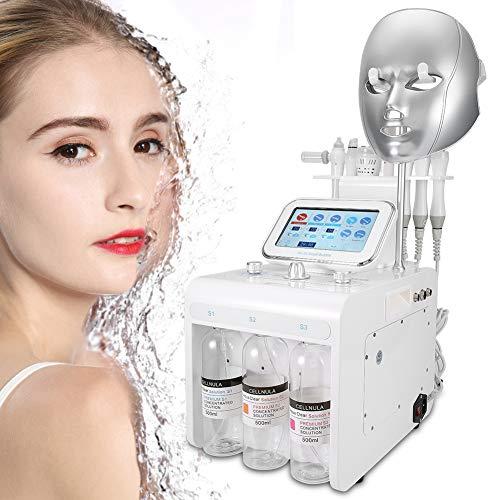 8-in-1 schoonheidsmachine voor waterstofzuurstofinjectie, kleine bubbel diepe reiniging, hydraterende spray, rimpelverwijderaar, huidverjongingsinstrument (EU)