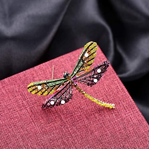 Soleiwei - Broche de libélula, diseño de insectos