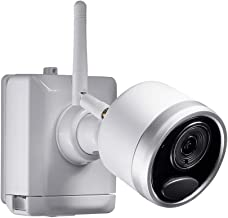 $329 » Lorex LWB4801 Indoor/Outdoor Wire-Free Security Camera for Battery Powered, Audio Security Bullet Camera,1080p HD, 65ft IR Night Vision, 2-Way Talk, Works with LHB926,LHWF1000, White(4Pack)