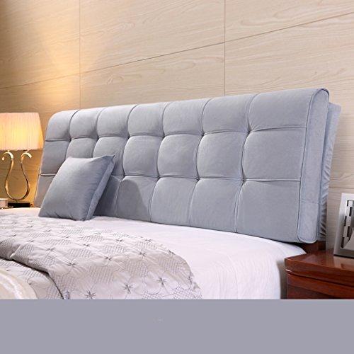 Dongy Große zurück Kissen Kissen Bett große Kissen Solid Color 58 * 180 cm (Color : H)