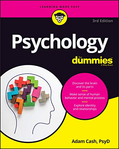 Compare Textbook Prices for Psychology For Dummies 3 Edition ISBN 9781119700296 by Cash, Adam
