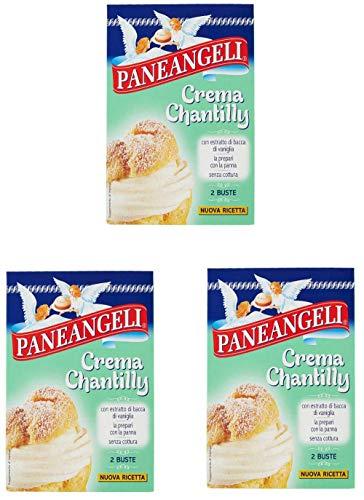 3x Paneangeli crema chantilly creme Chantilly-Creme Mischung kuchen 2x 40