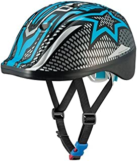 オージーケーカブト(OGK KABUTO) 自転車 ヘルメット 子ども用 DUCK(ダック) ジェットブラックブルー 幼児・児童用(頭囲:49~54cm未満)