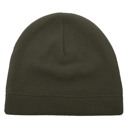 Opromo Men s Fleece Hat Lightweight Soft Warm Winter Beanie Skull Cap 379eac4645e9