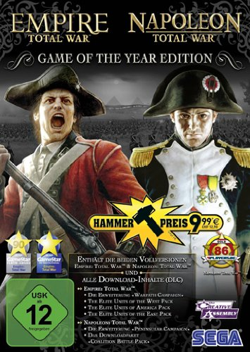 Total War : Empire + Total War : Napoleon Game of the Year Hammerpreis [import allemand]