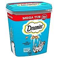 DREAMIES Cat Treats Megatub Salmon 2x350g