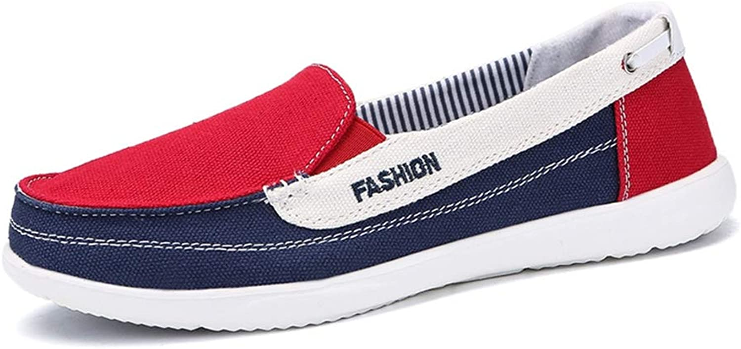 Spring Women Canvas Sneakers for Woman Slip on Loafers shoes Women Flats Tennis shoes Ladies Flat Slip on Sneakers