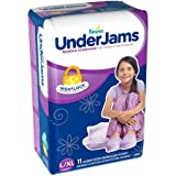Pampers UnderJams Bedtime Underwear Girls, Size L/XL, 11 ct
