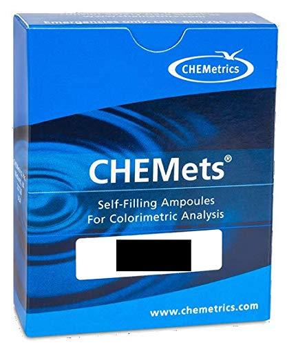 R-9510 - Sulfide (Total Soluble) Refill Pack for CHEMets Test Kits, CHEMetrics - Pack of 30 (0.5.ml)