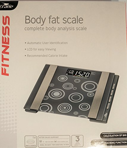 Crane Fitness Complete Analysis Body Fat Scale