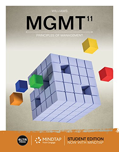 Bundle: MGMT with MindTap, 1 term Printed Access Card (New, Engaging Titles from 4LTR Press)