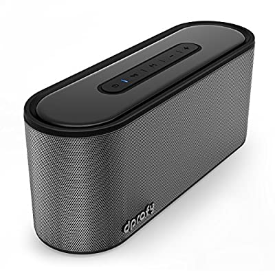 Bluetooth Speaker,20W Portable Stereo Speaker - 24 Hours Playtime with Super Bass,Support SD Card,33ft Bluetooth Range,Built in Microphone,Bluetooth 4.2 Wireless Speaker for iPhone,Samsung from Dprofy
