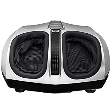 Belmint Shiatsu Foot Massager with Switchable Heat Function, Delivers Deep-Kneading Massage Relief for Tired Muscles and Plantar Fasciitis, Perfect Gift Idea for Father's Day,