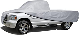 BDK Truck Cover Outdoor Indoor No-Scratch Lining Pickups for Extended Cab & Crew Cab