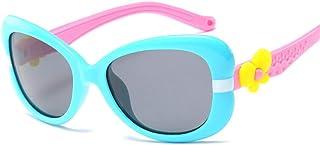 Yiph-Sunglass - Sunglass Fashion Gafas de Sol para niños Mar al Aire Libre Protector Solar UV400 Gafas de Sol polarizadas Gafas de Silicona Gafas de Sol polarizadas de Moda El Color deslumbra Evita Las gaf
