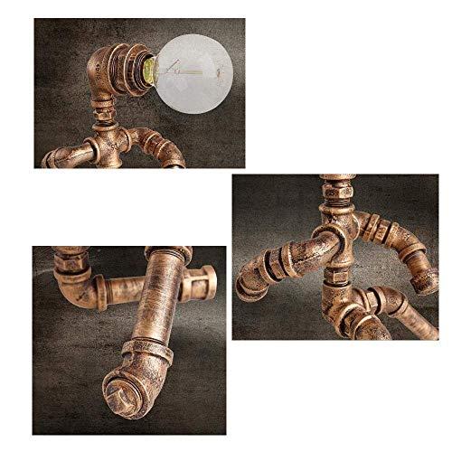 DEJ Industriële Retro Lamp, Loft Lamp Led Bureau Lamp Decoratie, Koffie Winkel, Parlor Lamp