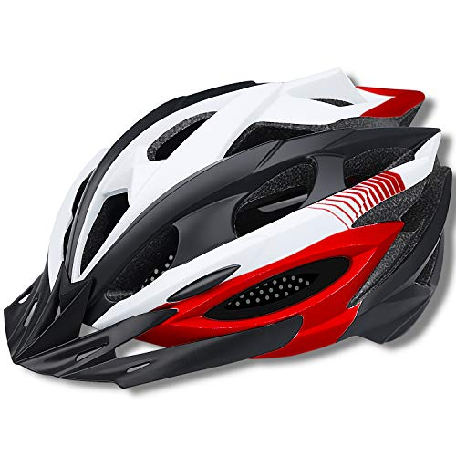 Fahrradhelm, BIKE Fahrradhelm Erwachsene FüR Herren MTB Helm Damen Integral 20 Belüftungskanäle Lululeague